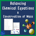 Balancing Chemical Reactions and the Law of Conservation of Mass