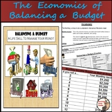 Balancing a Budget - Calculating Budgets with Monthly Inco