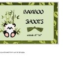 Bamboo Shoots: sounds of oo