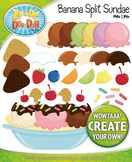 Banana Split Sundae Clipart — Create You Very Own with Ove