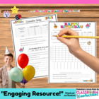 Bar Graph Math Fun- { Birthday Bar Graph}