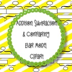 Bar Model Clipart:  Singapore Math and Math in Focus