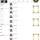 Barack Obama Presidential Fakebook Template