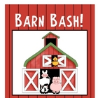 Barn Bash Ag, Am, At, Ap Word Family File Folder Game