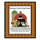 Barnyard Count and Spell Mats - Farm