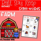 Barnyard Friends Alphabet Roll, Say, Keep