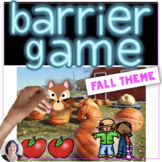 Barrier Games for Seasons: Fall _ giving and following dir