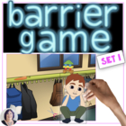 Barrier Games for Language Development (set 1), speech therapy