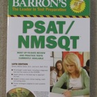 Barron's PSAT / NMSQT Test Prep Book Brand New Copyright 2012