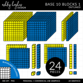 Base 10 Blocks {Graphics for Commercial Use}