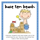 Base Ten Beach - FREE MATH CENTER