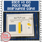 Base Ten Blocks Game - &quot;Race to 100&quot;