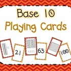 Base Ten Playing Cards {multiple uses!}