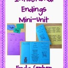 Base Word & Inflectional Endings Mini-unit