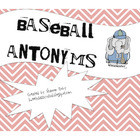Baseball Antonyms Activity