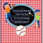 Baseball Nouns & Verbs {a craftivity}