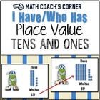 Baseball Place Value I Have/Who Has (Tens and Ones)