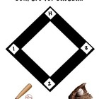 Baseball Primer Sight Word Game