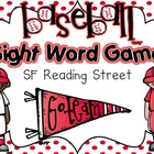 Baseball Sight Word Game {Kindergarten SF Reading Street Words}