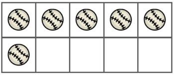 Baseball Ten-Frames