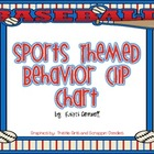 Baseball Themed Behavior Clip Chart {FREEBIE}