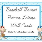 Baseball Themed Primer Wall Cards