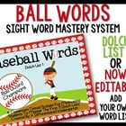 Baseball Word Champs-Dolch 1: Classroom Tested Dolch Word Mastery