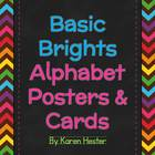 Basic Brights Alphabet Posters & Cards
