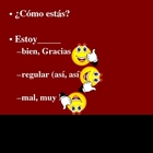 Basic Conversation - Spanish