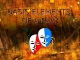 Basic Elements of a Play PowerPoint