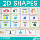Basic Geometric Shape Posters