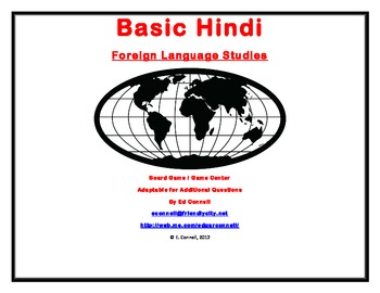 Basic Hindi Board Game