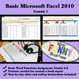 Basic Microsoft Excel with Video Lesson 1 of 3