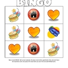 Basic Needs BINGO Game