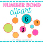 Basic Number Bond Clipart:  15 png files