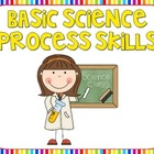 Basic Science Process Skills Posters {Rainbow Theme}