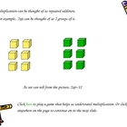 Basics of Multiplication Power Point Presentation