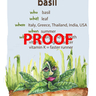 Basil Poster - Available in English and Spanish!