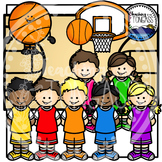 Basketball Buddies Clipart Bundle