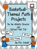 Basketball Themed Math Projects