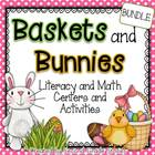 Easter Math and Language Arts Centers and Activities  ~ Ba