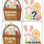 Baskets and Bunnies Sentence Building Activities
