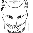 Bastet Ancient Egyptian Cat Mask