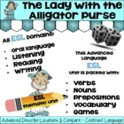 Bathroom Vocabulary Advanced ESL and Grammar Unit and Lesson Plan