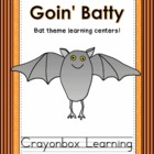 Bats, Goin' Batty, Stellaluna Learning Center Activities