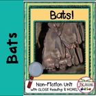 Bats! Non-fiction CLOSE Reading {CCSS}
