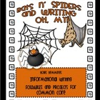 Bats 'n Spiders and Writing