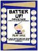 Batter Up!  Phrase Game For Fry&#039;s First 100 Words