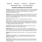 Battle of Saratoga Reader's Theater - Reading Fluency
