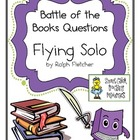 "Battle of the Books Questions: ""Flying Solo"", by Ralph Fletcher"